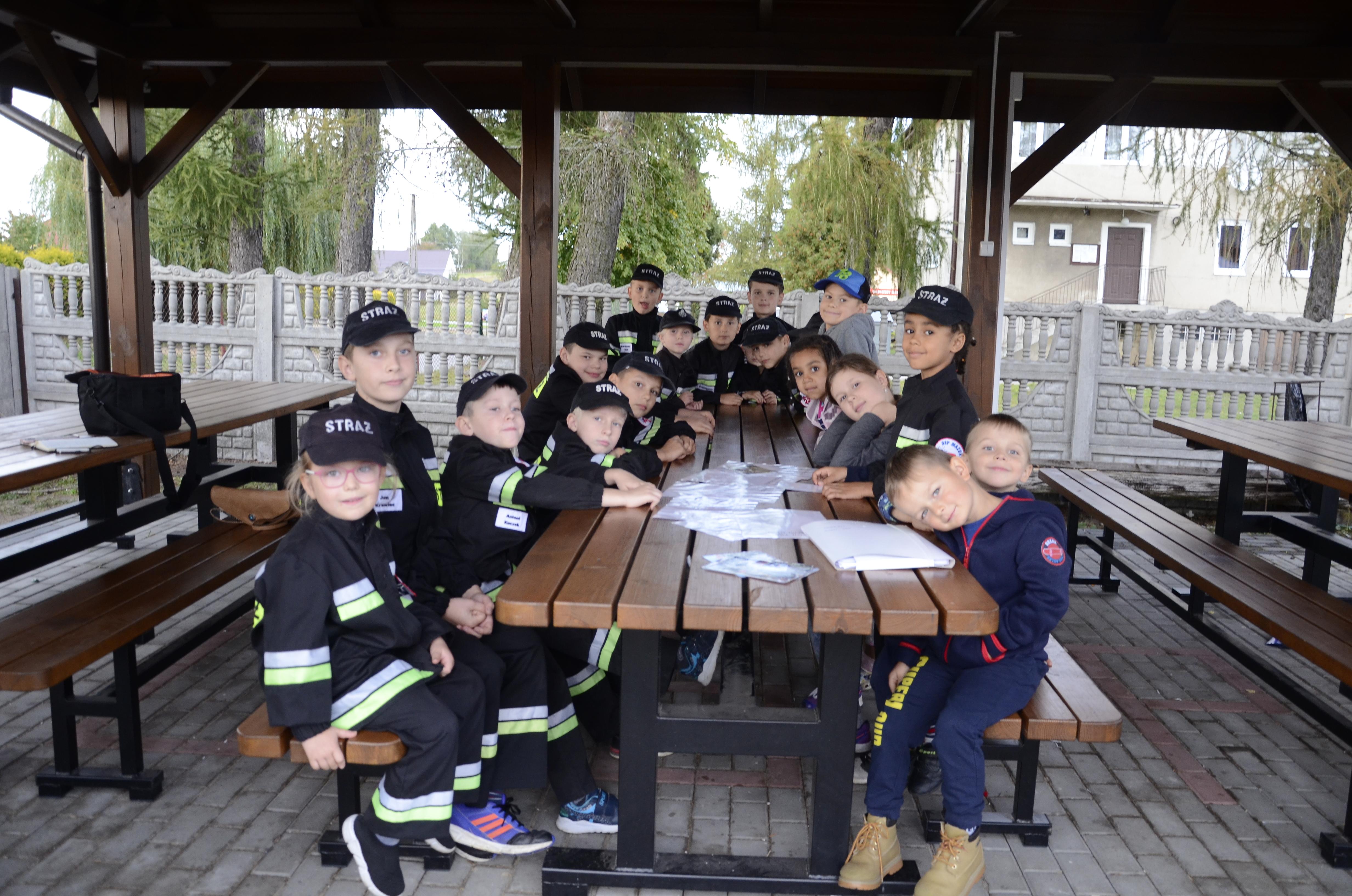 Kilka słów o Dziecięcej Drużynie Pożarniczej z Mazurów - Zdjęcie główne