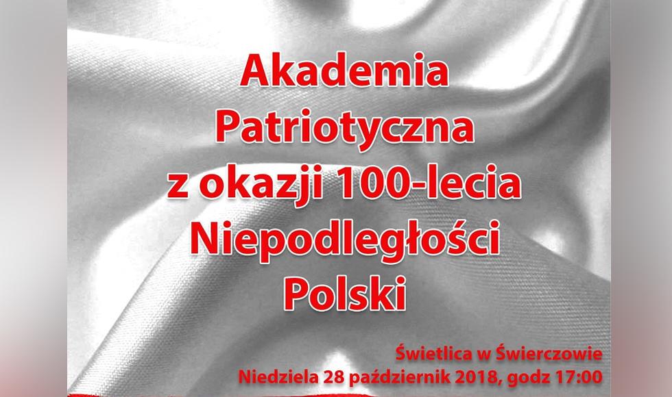 Akademia patriotyczna w Świerczowie. Sprawdź program  - Zdjęcie główne