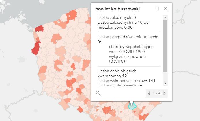Raport zakażeń Covid-19 w kraju i na Podkarpaciu [wtorek - 31 sierpnia] - Zdjęcie główne