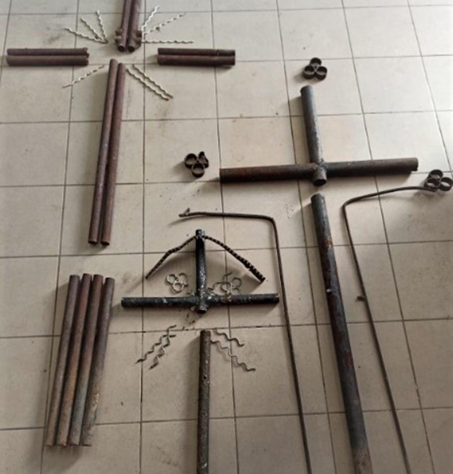 Podkarpacie. Kradł krzyże z cmentarza i sprzedawał [FOTO] - Zdjęcie główne