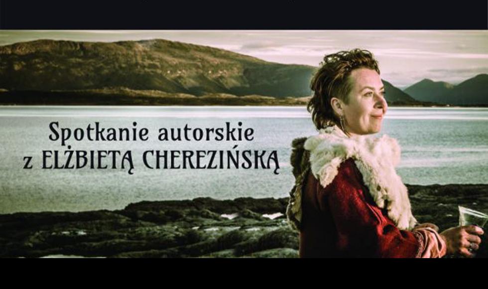 Spotkanie autorskie z Elżbietą Cherezińską w kolbuszowskiej bibliotece - Zdjęcie główne