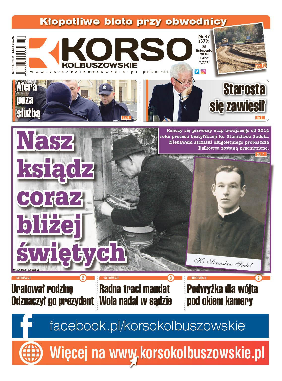 Korso Kolbuszowskie - nr 47/2018 - Zdjęcie główne