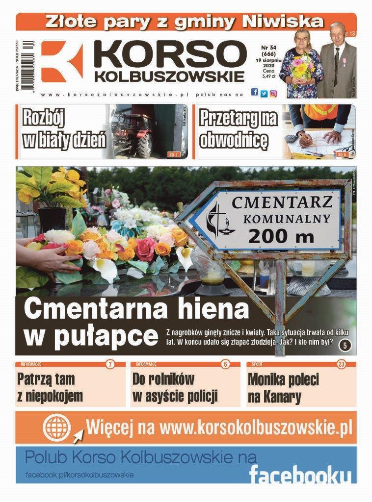 Korso Kolbuszowskie - nr 34/2020 - Zdjęcie główne