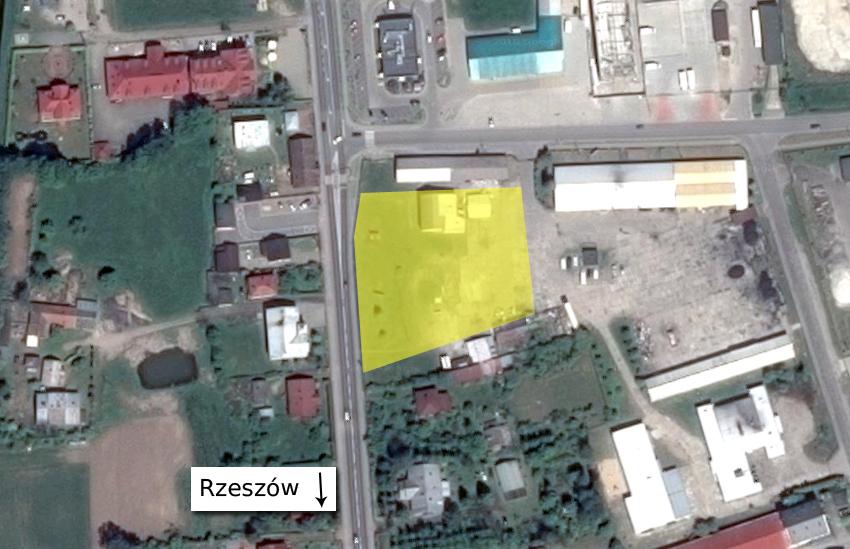 Gmina Kolbuszowa. Na działce spółdzielni przy ul. Rzeszowskiej w Kolbuszowej ma zostać wybudowany supermarket. Bardzo prawdopodobne, że będzie to Lidl  - Zdjęcie główne