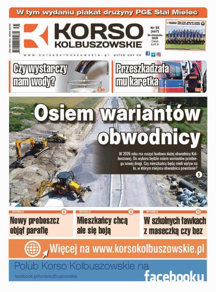 Korso Kolbuszowskie - nr 35/2020 - Zdjęcie główne