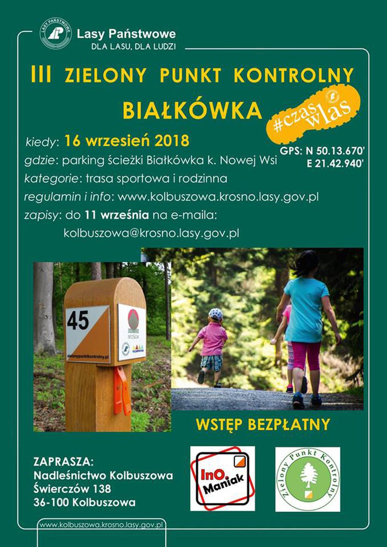 Gmina Kolbuszowa. Impreza na orientację na ścieżce Białkówka koło Nowej Wsi - Zdjęcie główne
