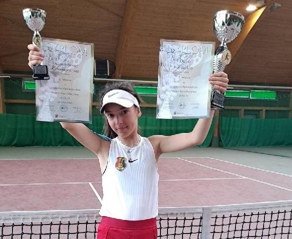 Oliwia Sybicka - wygrywa w Polsce punktuje za granicą - Zdjęcie główne