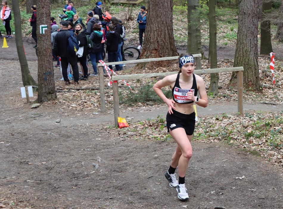 Monika Węgrzyn najlepszą juniorką w biegu - Zdjęcie główne