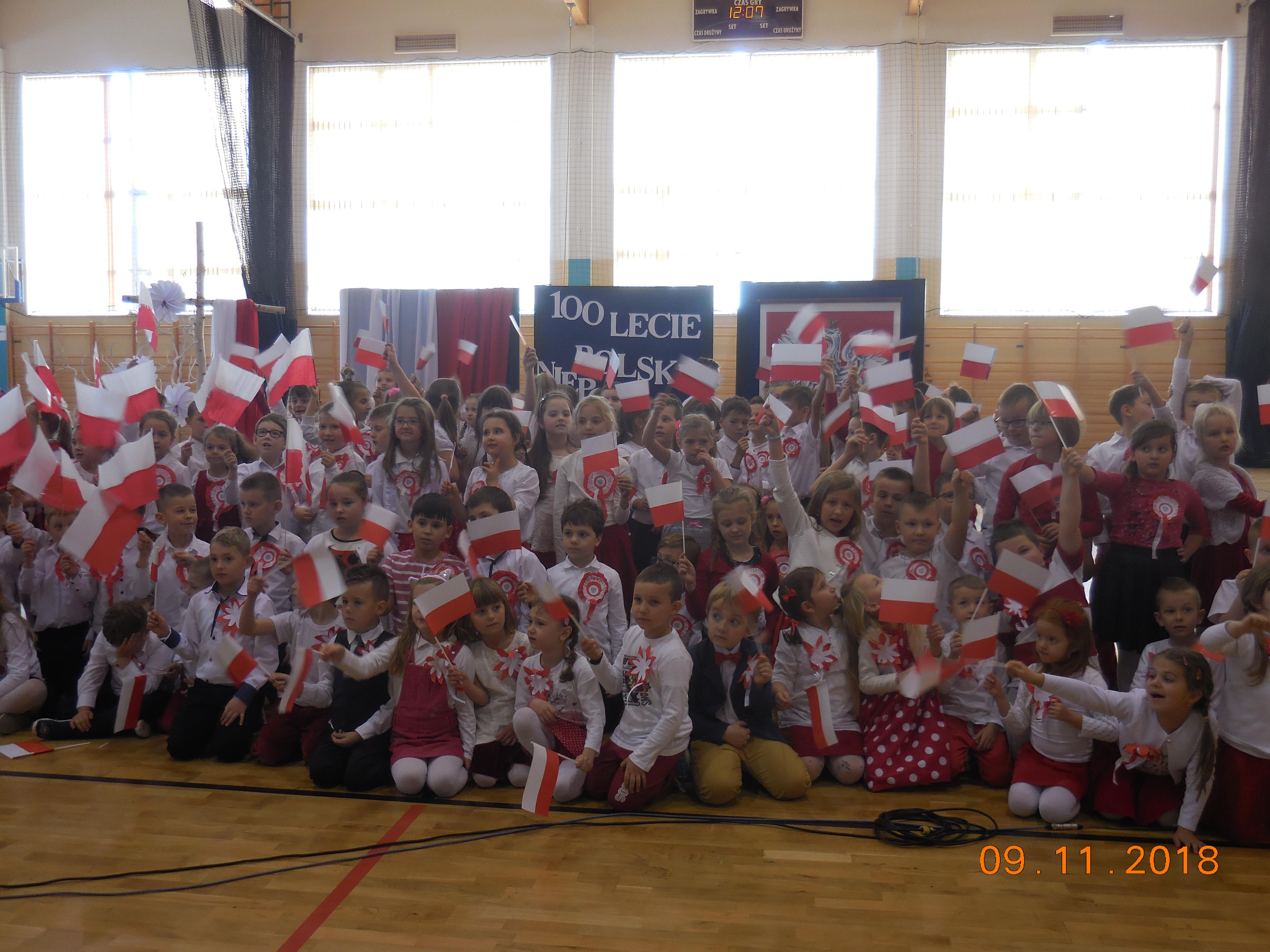 W szkole w Cmolasie także świętowali obchody niepodległości. Zobaczcie zdjęcia - Zdjęcie główne