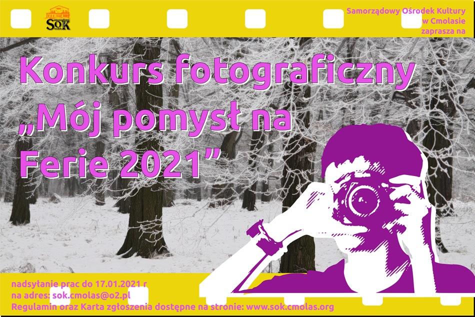 Ciekawa propozycja na ferie od SOK Cmolas  - Zdjęcie główne
