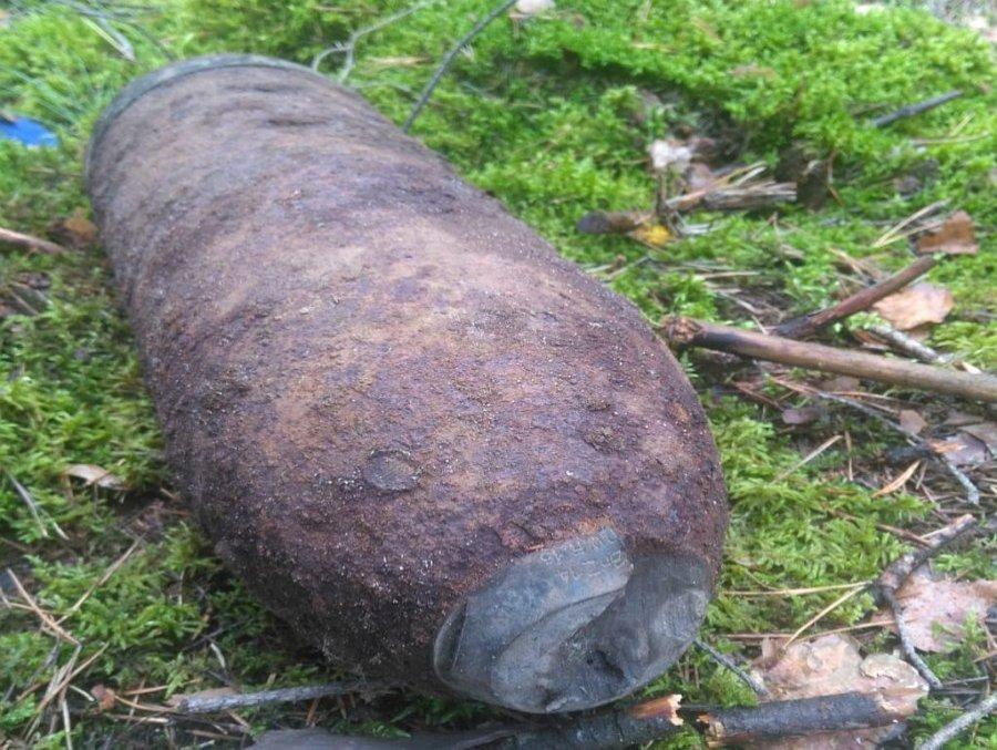 Podkarpacie. Niebezpieczny pocisk, pochodzący z I wojny światowej znaleźony został w gminie Bojanów - Zdjęcie główne