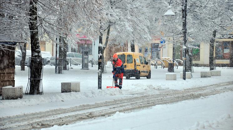 Kolbuszowa pod śniegiem [ZDJĘCIA, WIDEO] - Zdjęcie główne