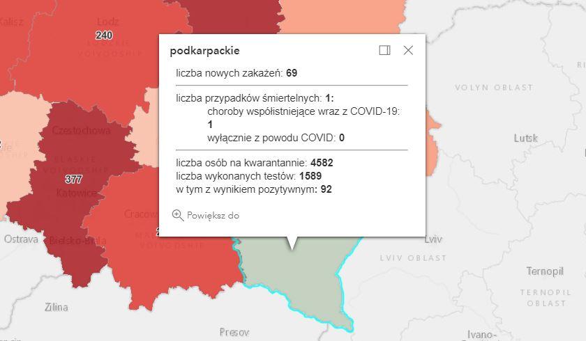 Zakażenia w powiecie kolbuszowskim [poniedziałek - 3 maja] - Zdjęcie główne