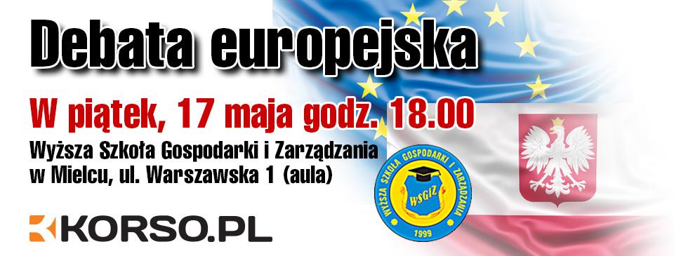 Debata europejska już w piątek. Transmisja na żywo. Sprawdź kto się pojawi - Zdjęcie główne