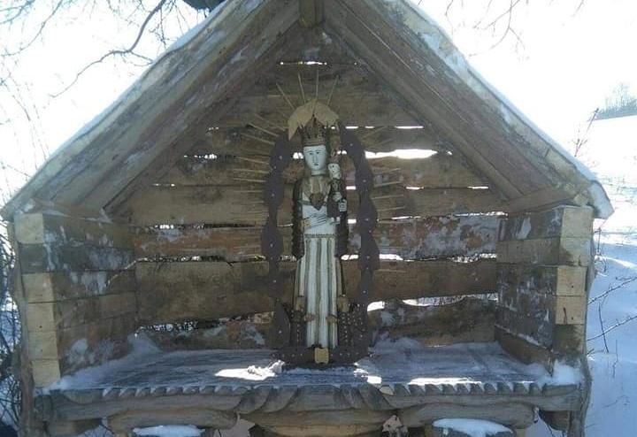 Podkarpacie. Postawił kapliczkę Matki Boskiej by ominąć obostrzenia - Zdjęcie główne