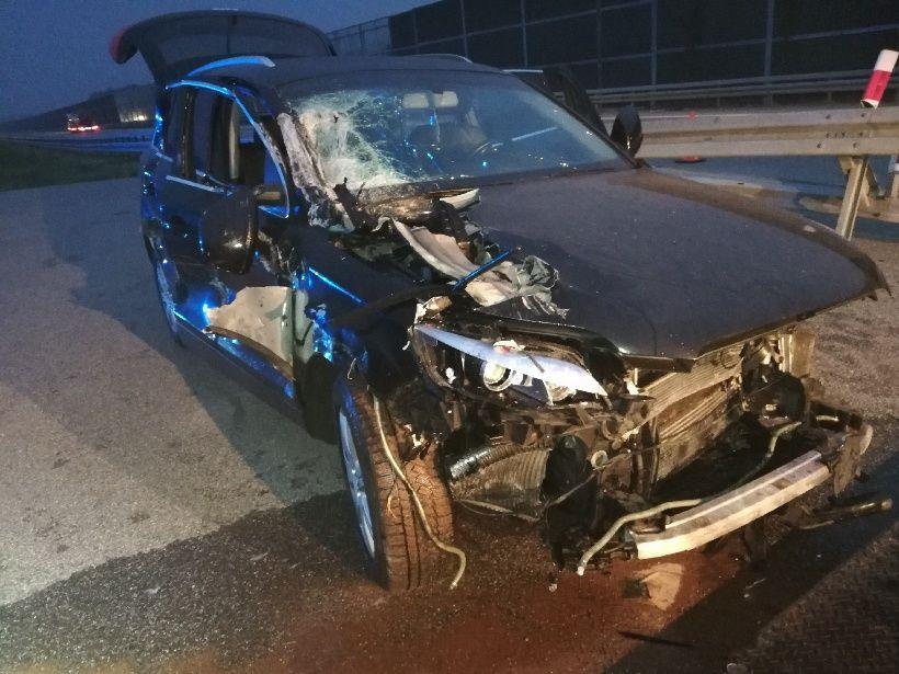 PODKARPACIE: Poważny wypadek na A4 między Rzeszowem a Sędziszowem [ZDJĘCIA] - Zdjęcie główne