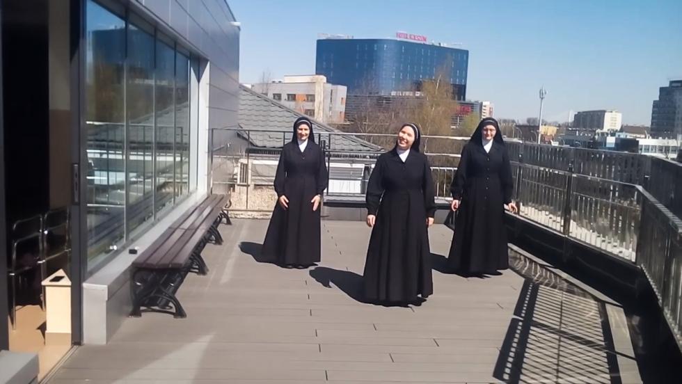 HIT! Tańczące siostry zakonne z Rzeszowa [VIDEO] - Zdjęcie główne