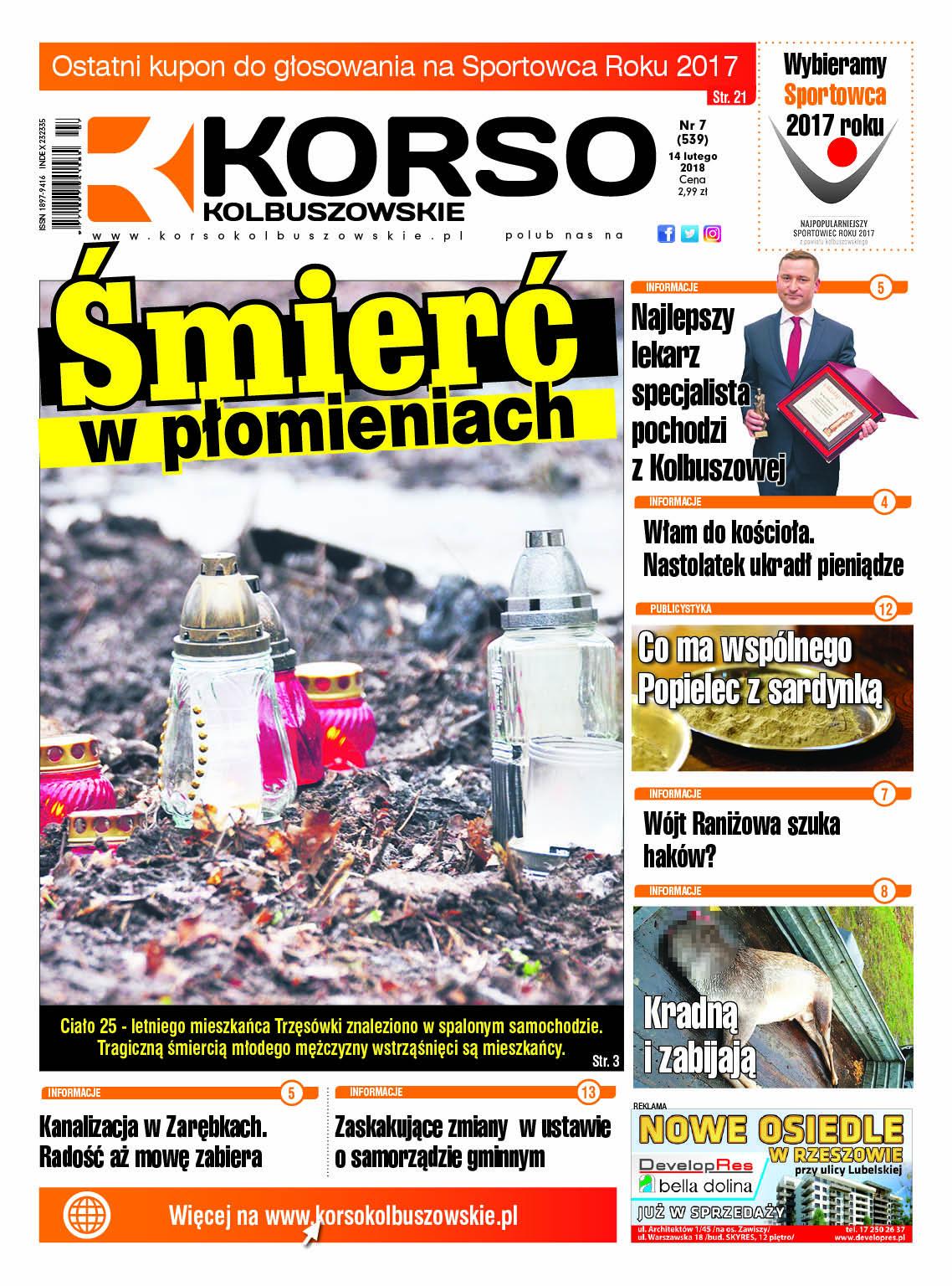 Nowy numer Korso Kolbuszowskie - nr 7/2018 - Zdjęcie główne