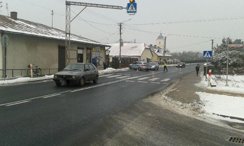 Okoliczności wczorajszego potrącenia w Majdanie Królewskim ujawnia kolbuszowska policja  - Zdjęcie główne