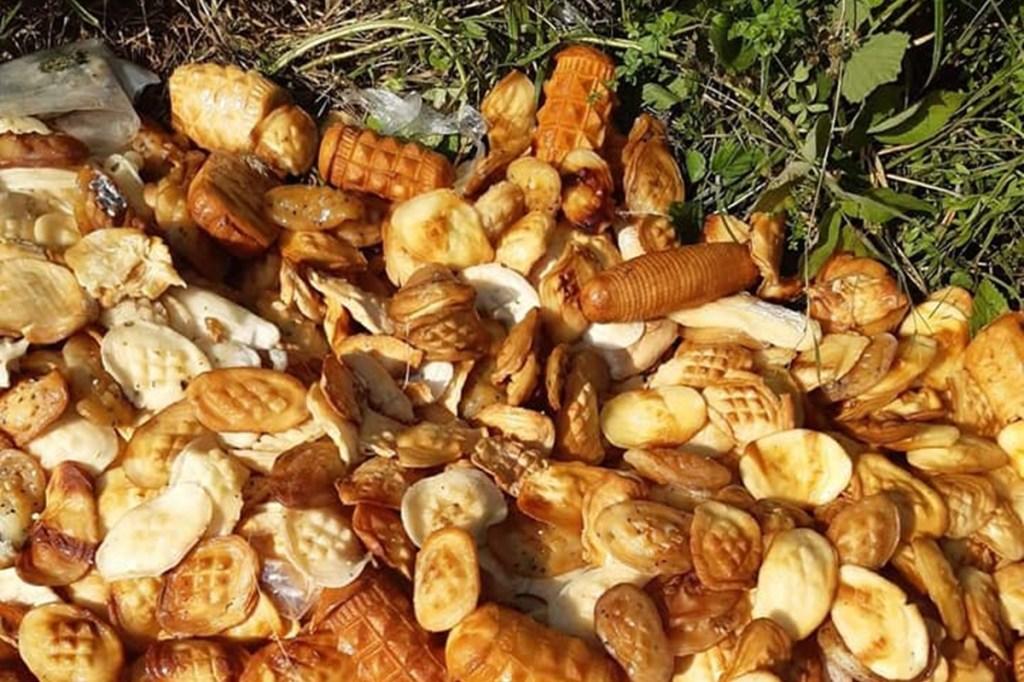 Podkarpacie. Wyrzucone serki w lesie stanowiły śmiertelne zagrożenie dla zwierząt - Zdjęcie główne