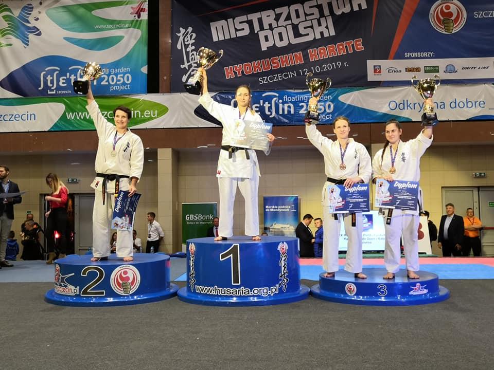 Nowa mistrzyni Polski w karate jest z Kolbuszowej - Zdjęcie główne