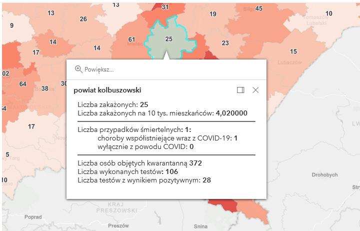Kolejny przypadek śmiertelny w wyniku Covid-19 w powiecie kolbuszowskim. Nowe zakażenia [piątek - 12 marca] - Zdjęcie główne