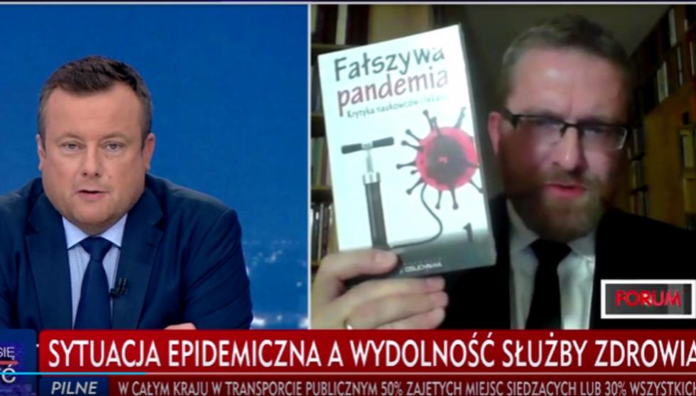 Grzegorz Braun zdjęty z anteny TVP [VIDEO] - Zdjęcie główne