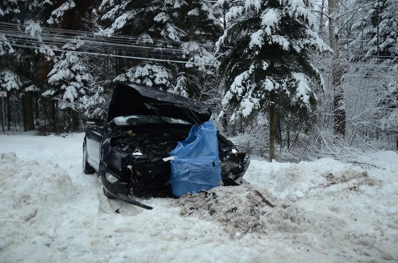 Wypadek na drodze relacji Kolbuszowa - Niwiska [ZDJĘCIA] [AKTUALIZACJA] - Zdjęcie główne