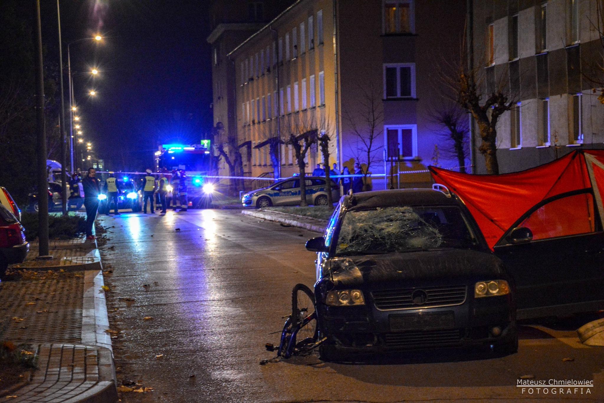 Policjanci szukają świadków wczorajszego śmiertelnego wypadku - Zdjęcie główne