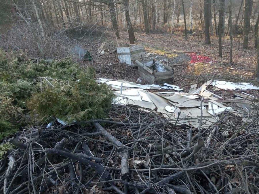 Nielegalne wysypiska śmieci na terenie powiatu kolbuszowskiego [FOTO] - Zdjęcie główne