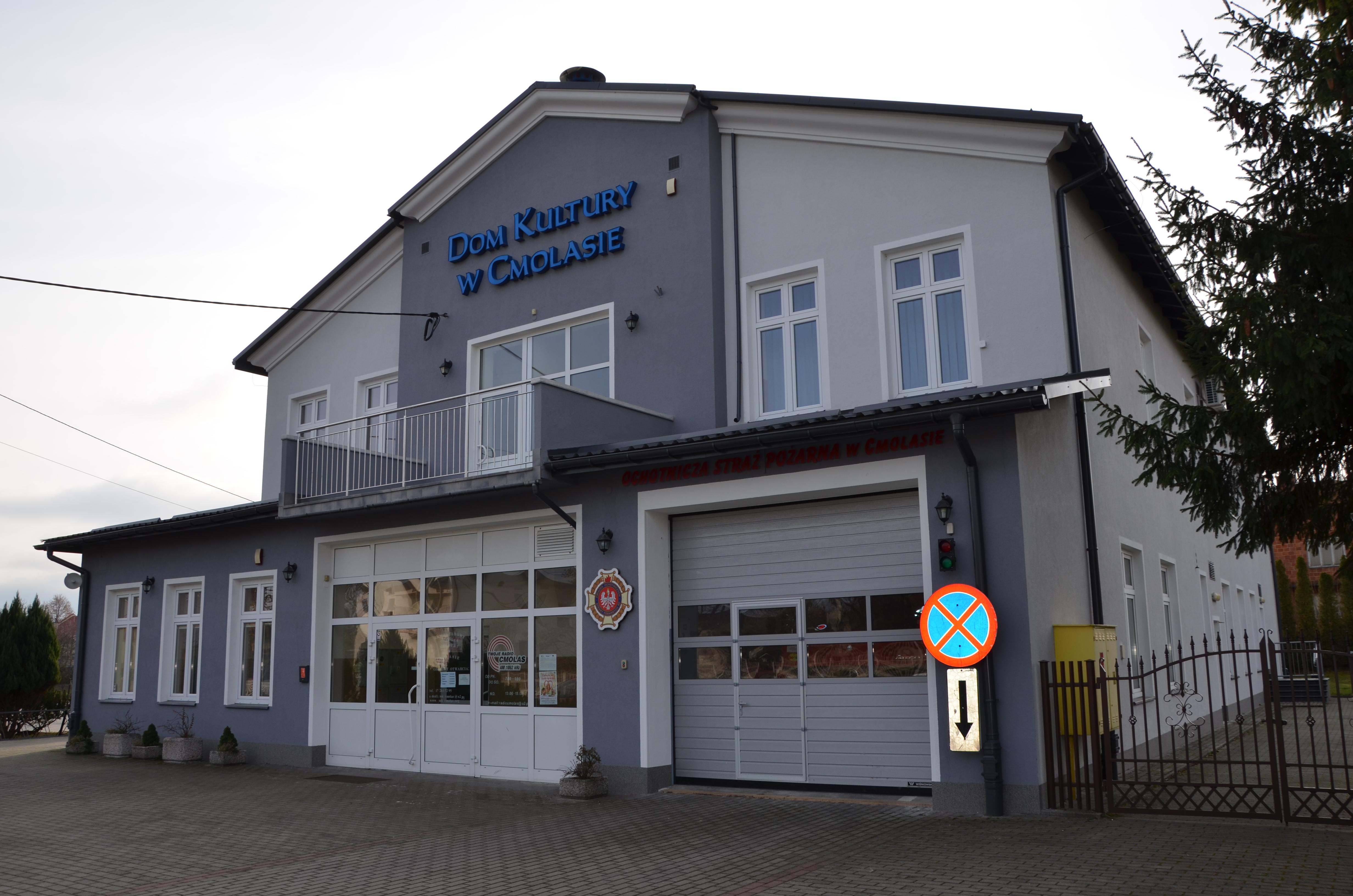 Zakończono przebudowę i remont Samorządowego Ośrodka Kultury w Cmolasie [ZDJĘCIA] - Zdjęcie główne