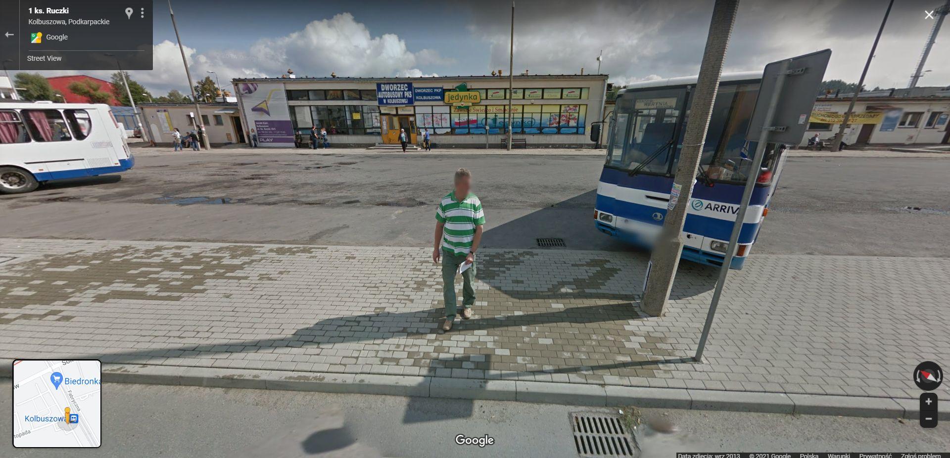 Google Street View na Podkarpaciu. Kolejna seria zdjęć przyłapanych w Kolbuszowej - Zdjęcie główne
