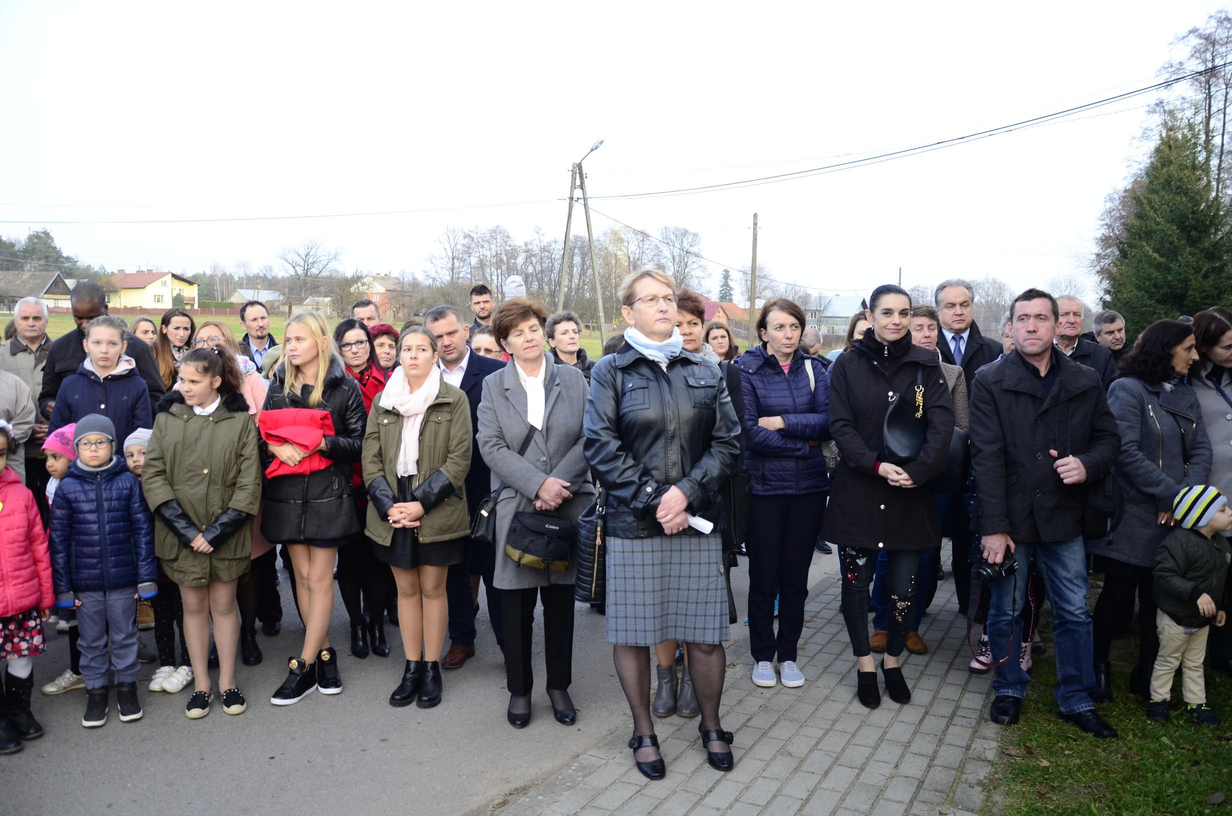 Gmina Raniżów. Setną Rocznicę Odzyskania Niepodległości świętowali także mieszkańcy Mazurów | ZDJĘCIA | - Zdjęcie główne