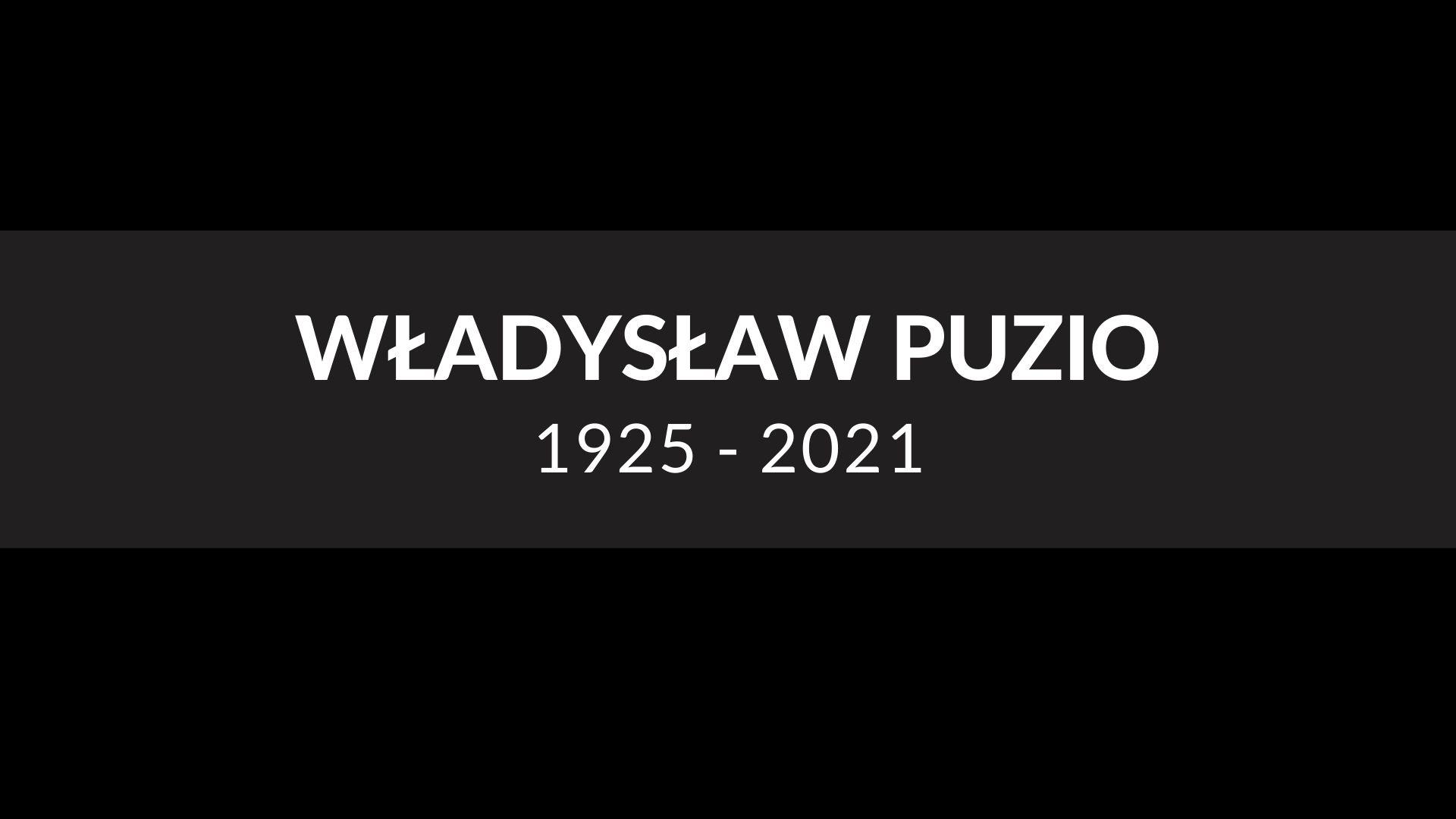 Zmarł Władysław Puzio - wieloletni nauczyciel  - Zdjęcie główne