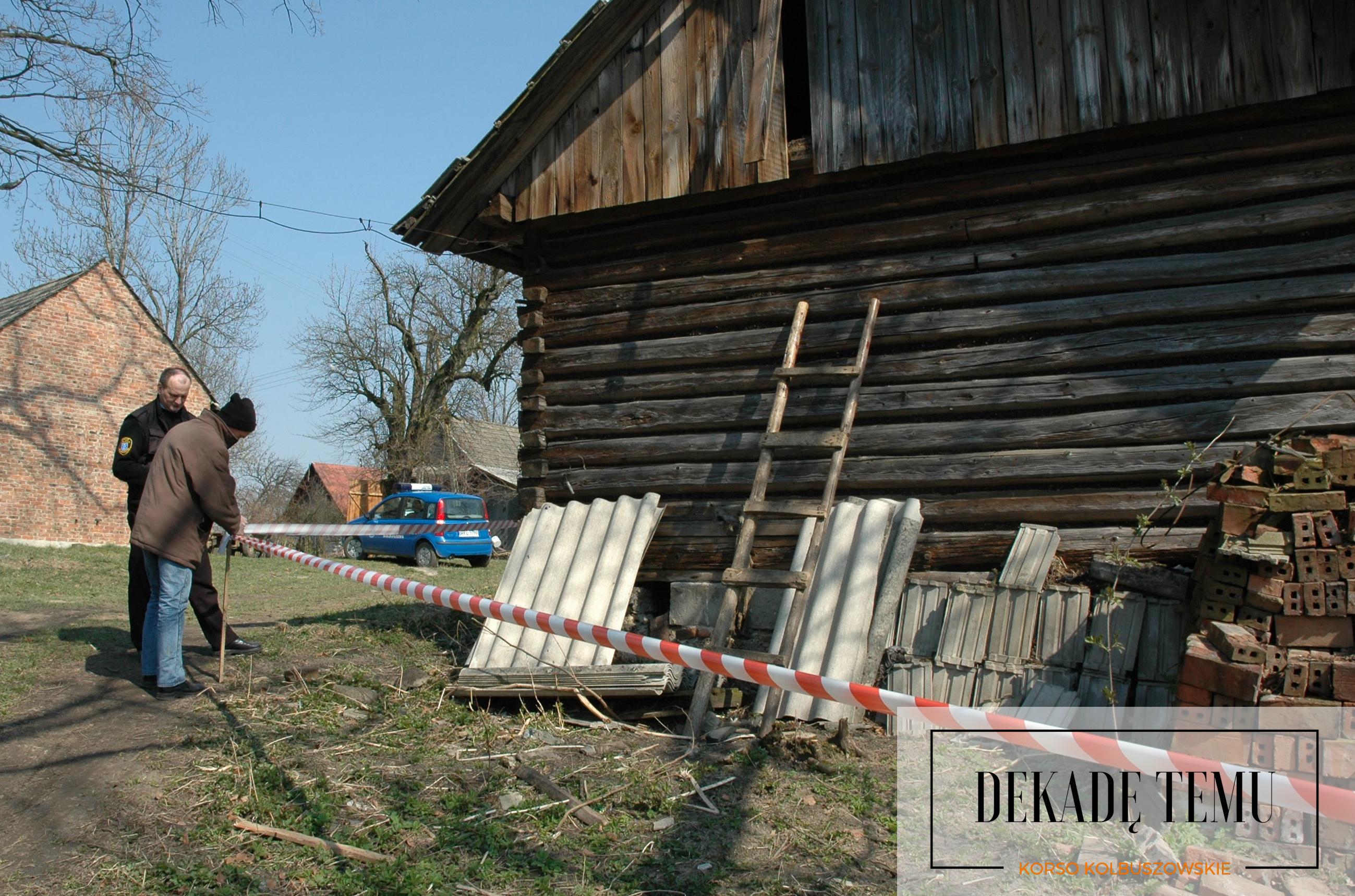 [DEKADĘ TEMU] Niewybuch znaleziony w starym domu w Weryni  - Zdjęcie główne