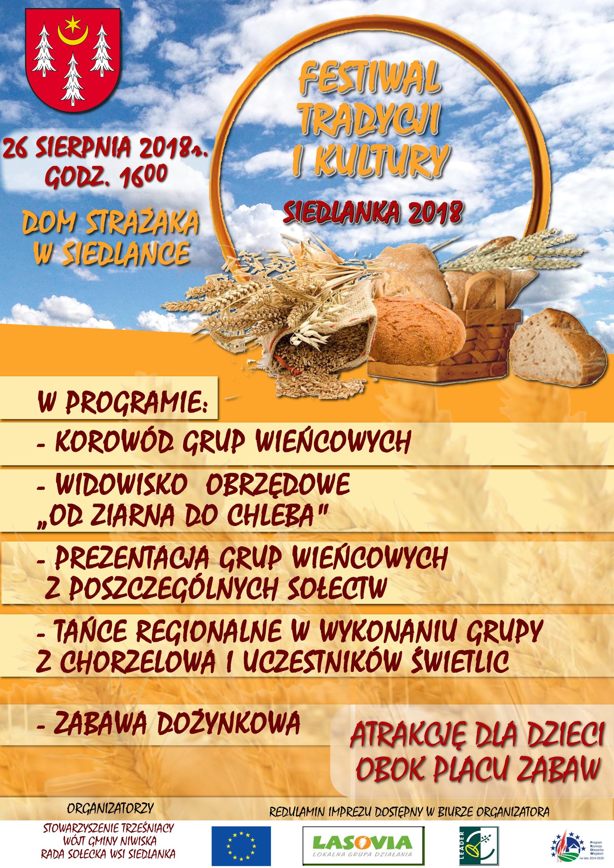 Gmina Niwiska. W niedzielę 26 sierpnia, w Siedlance organizowane będą gminne dożynki - Zdjęcie główne