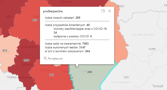 Zakażenia w powiecie kolbuszowskim [środa - 28 kwietnia] - Zdjęcie główne