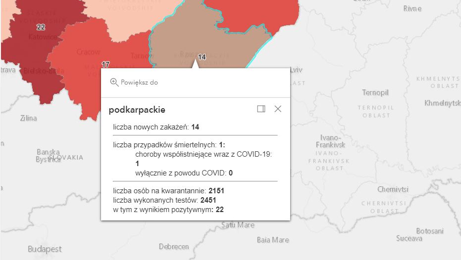 Nowe zakażenia Covid-19 na Podkarpaciu [środa - 11 sierpnia] - Zdjęcie główne