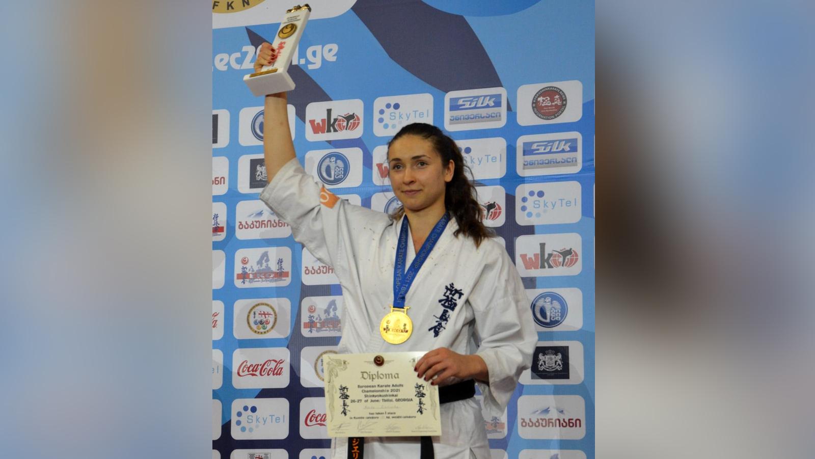 Monika Zielińska z Kolbuszowej mistrzynią Europy! - Zdjęcie główne