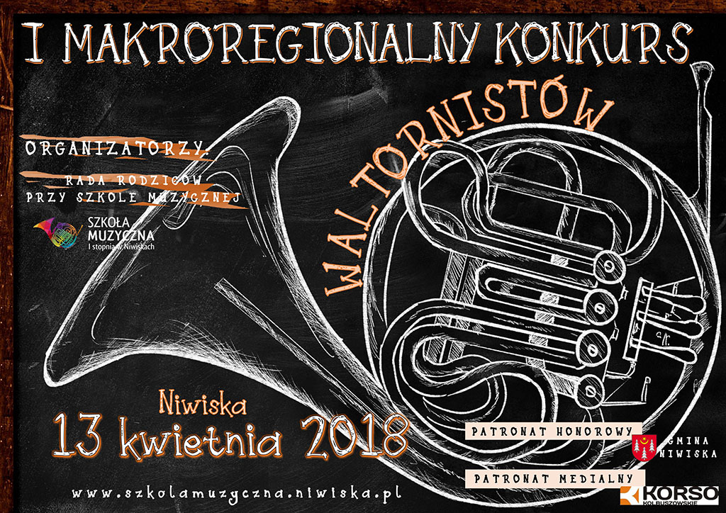 Pierwszy Makroregionany Konkurs Waltornistów w Szkole Muzycznej I st. w Niwiskach [2008] - Zdjęcie główne