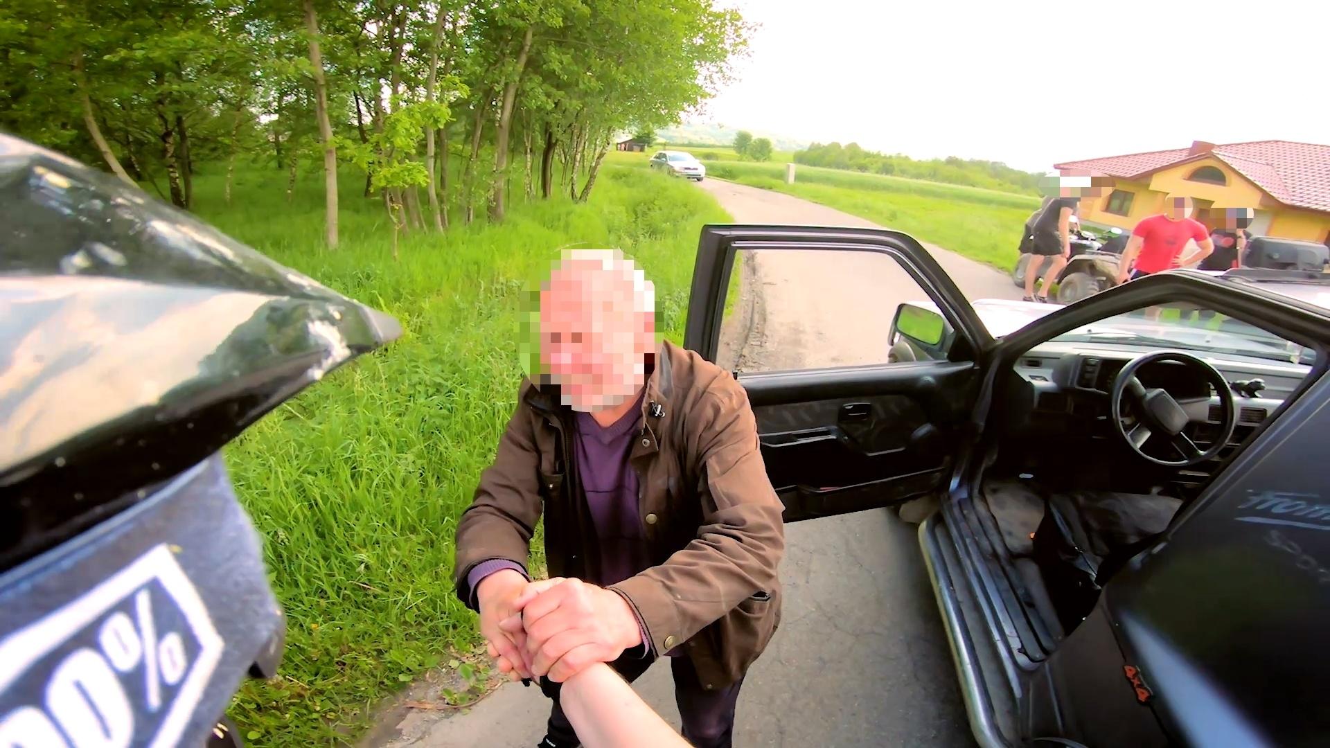 Obywatelskiego zatrzymania pijanego kierowcy dokonał mieszkaniec Kolbuszowej [ZDJĘCIA   WIDEO] - Zdjęcie główne