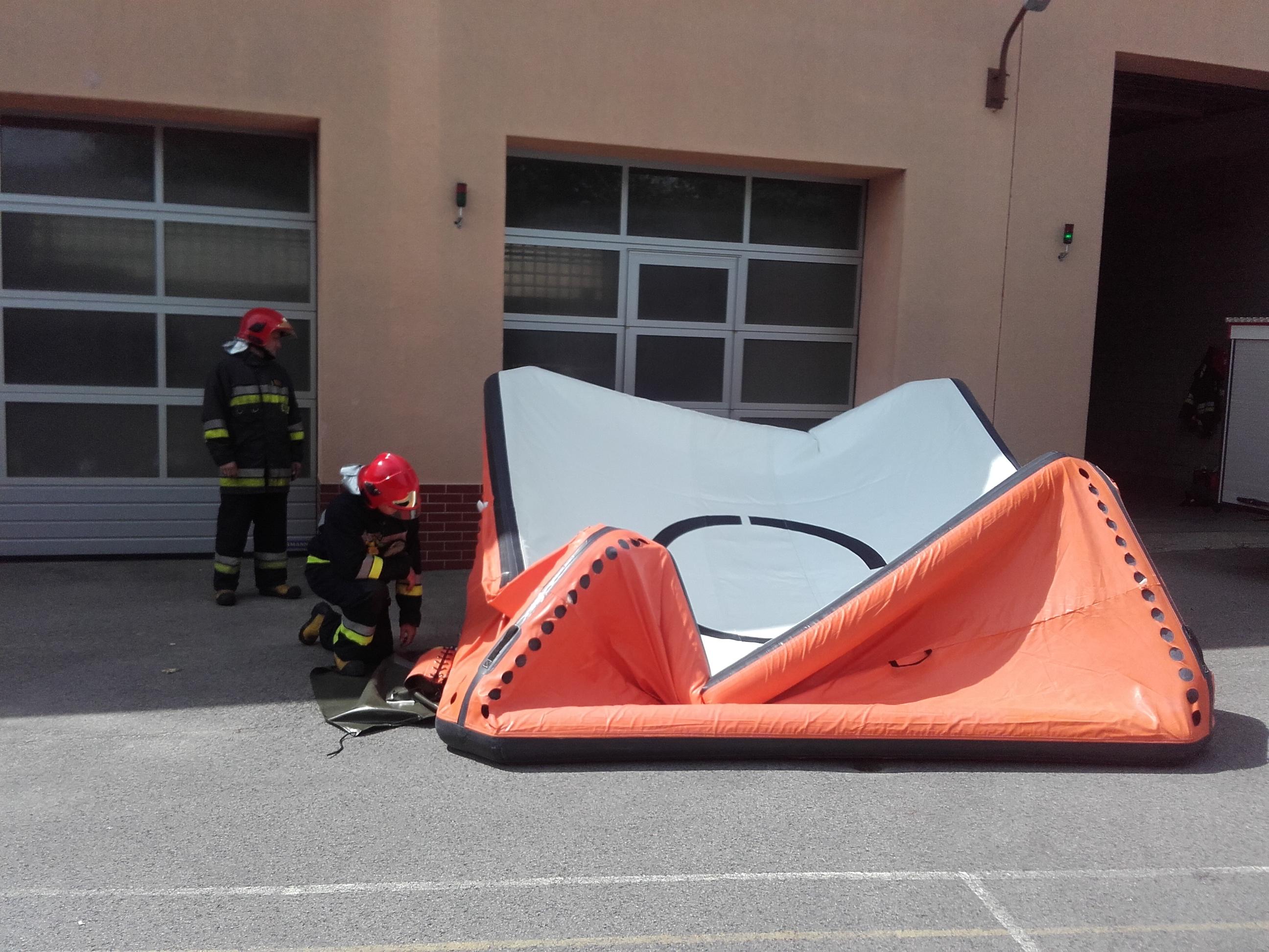 Skokochron już na wyposażeniu strażaków. Kto się dołożył do zakupu? - Zdjęcie główne