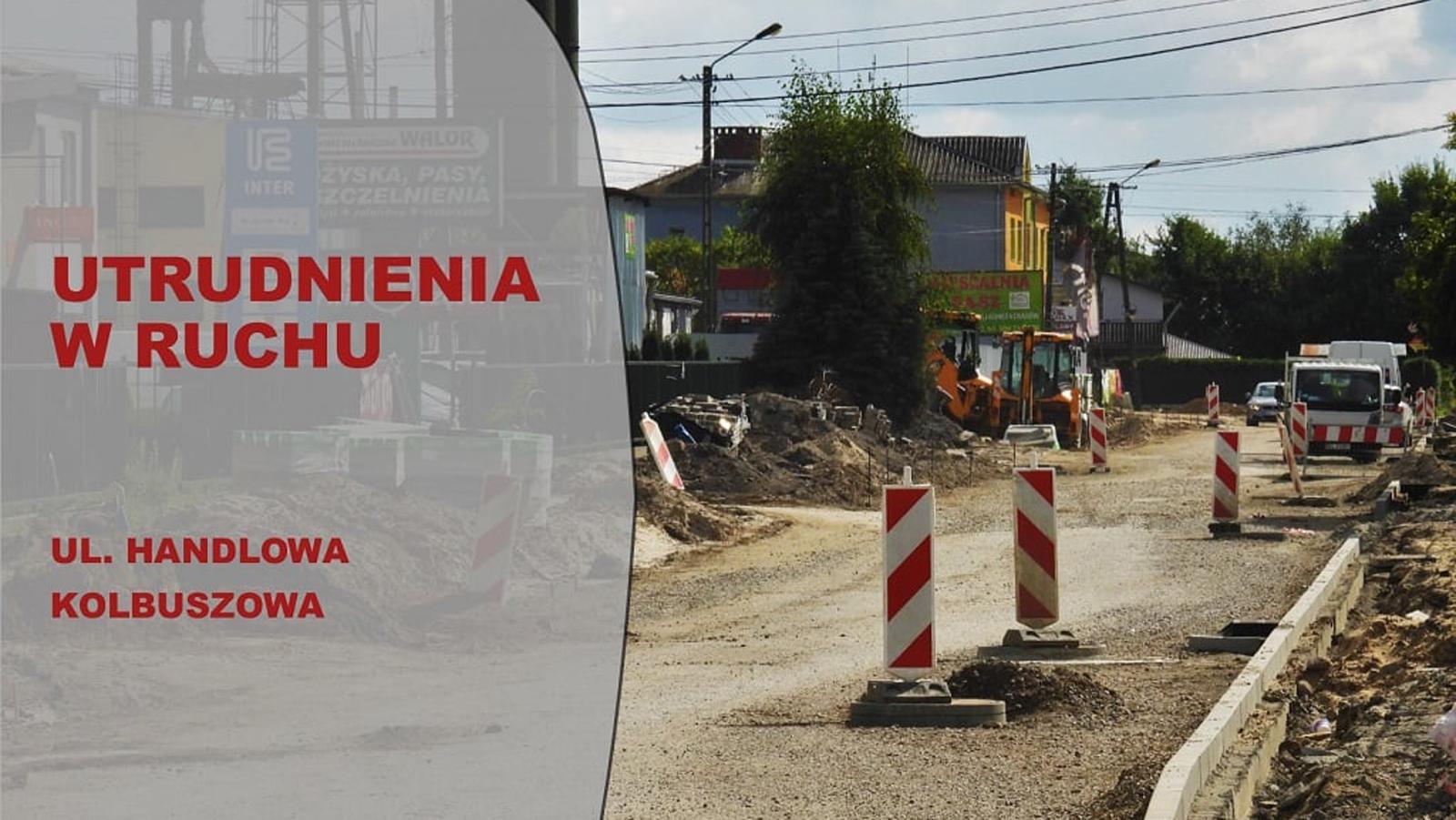 W czwartek znów utrudnienia na ul. Handlowej w Kolbuszowej - Zdjęcie główne