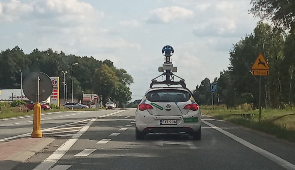Po Podkarpaciu jeździ pojazd Google Maps  - Zdjęcie główne