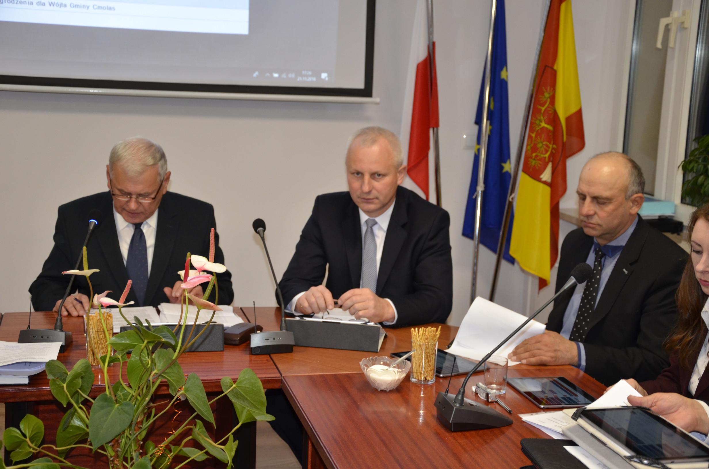 Gmina Cmolas. Radni ustalili składy komisji stałych działających w ramach rady gminy  - Zdjęcie główne