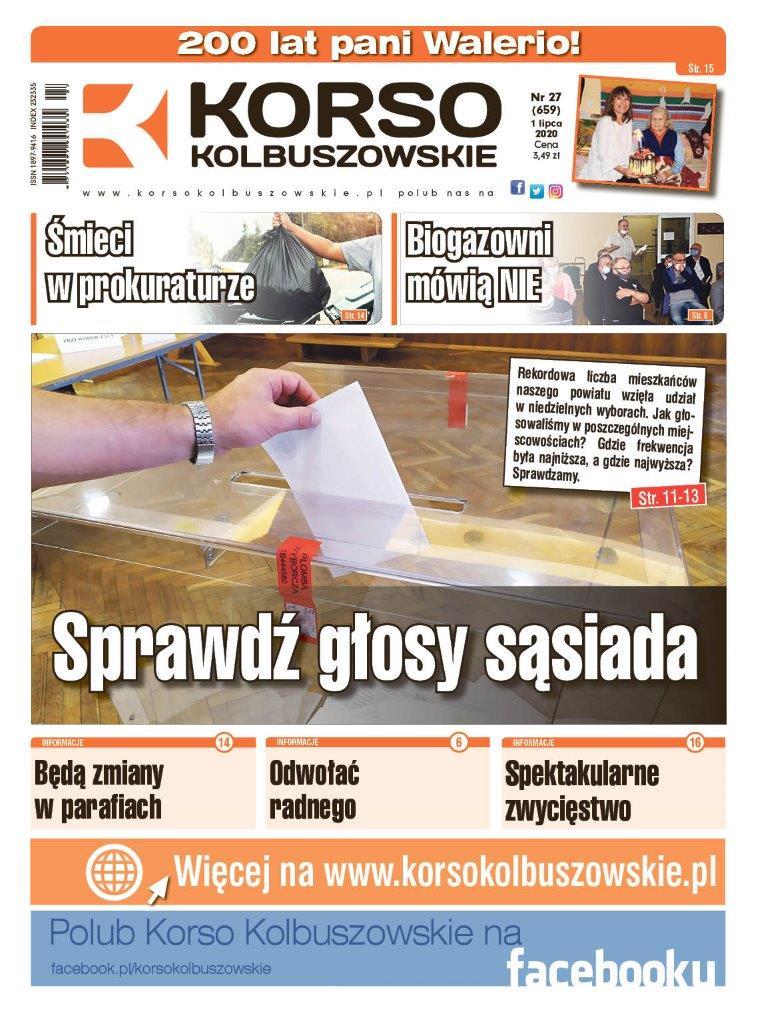 Korso Kolbuszowskie - nr 27/2020 - Zdjęcie główne