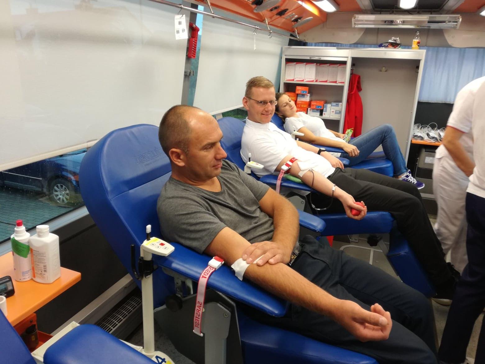 Ponad 40 osób oddało krew podczas akcji przeprowadzonej w ostatnią sobotę w Woli Raniżowskiej - Zdjęcie główne