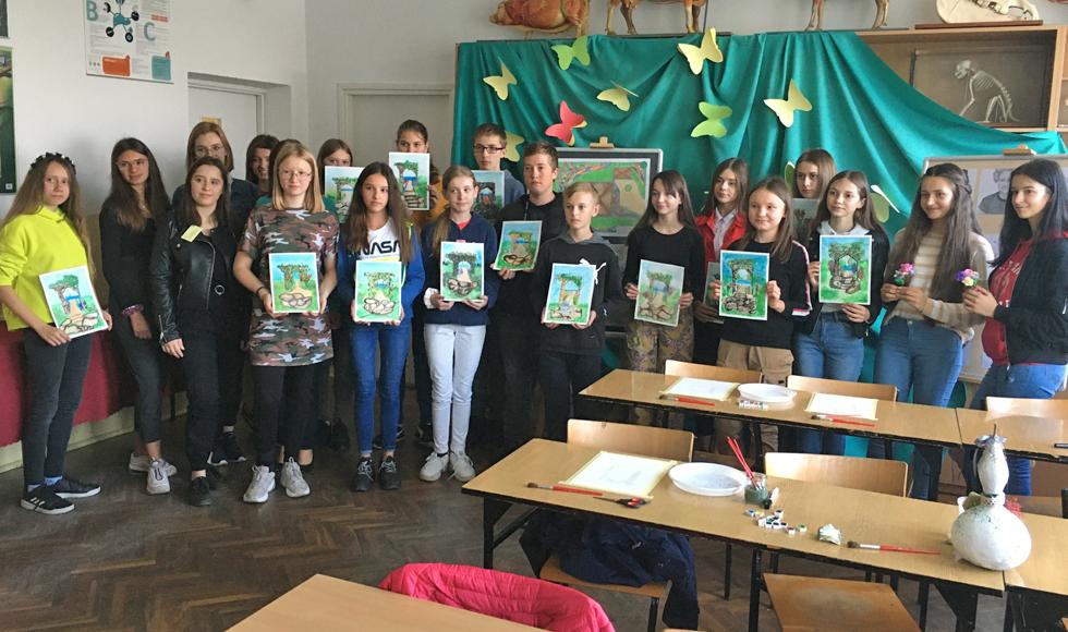Młodzi pasjonaci w szkole w Weryni  - Zdjęcie główne