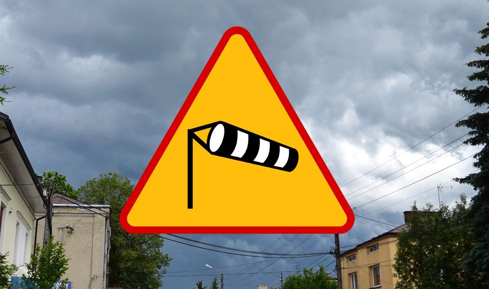 Powiat kolbuszowski. Ostrzeżenie przed wiatrem pierwszego stopnia  - Zdjęcie główne