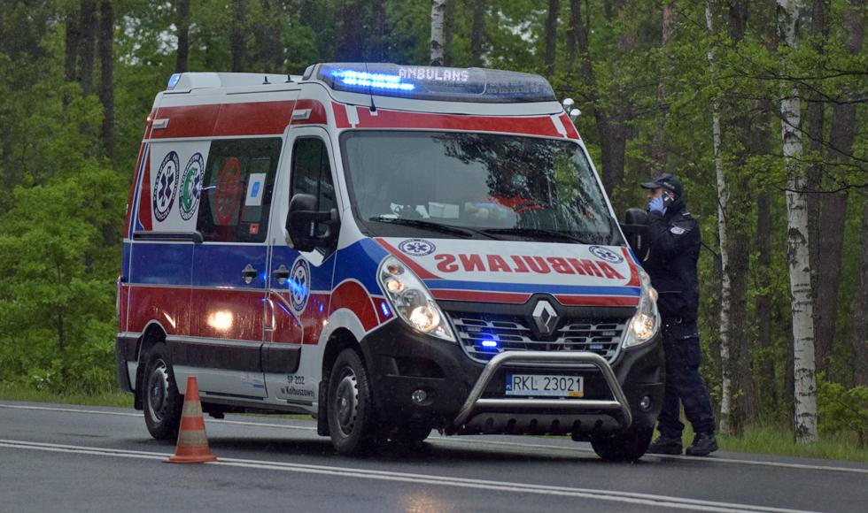 Wypadek na trasie Kolbuszowa - Niwiska. Wezwano śmigłowiec - Zdjęcie główne